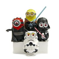 Wholesale Cartoon Decoration Resin Despicable Me Cosplay Star Wars Toys Movies Video Game Cute Action Figures Height cm K1189