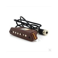 Wholesale Brand New High Quality Active Pickups Sound Hole Pickups High Permeability Rosewood Cavity Fits For Acoustic Guitar