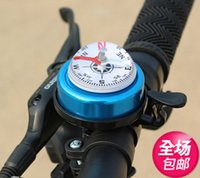Wholesale Folding bike bell bicycle horn copper bell rang bells bicycle accessories mountain bike ultra large