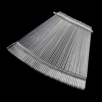 Wholesale 50pcs set False Nail Art Tips Stick Display Practice Fan Board Transparent nail tools100 Brand New