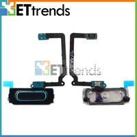 Wholesale Home Button Flex Cable Ribbon Replacement for Samsung Galaxy S5 Black White AB0793