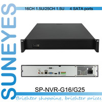 Wholesale SunEyes SP NVR G16 G25 U Project Quality NVR Support MP MP and MP IP Camera with SATA HDD Port