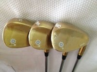 Wholesale Oem Limited Gold Vokey Sm5 golf wedges degree with steel shaft golf clubs Vokey SM5 wedges right hand