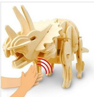 Wholesale New arrival Hot sale Electric voice activated animal robot toy Classic lovely type dinosaur child toy