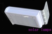 solar indoor light - best sale Landscape Lighting LED LEDS Solar Human Body Sensor Lamp Portable outdoor indoor lamps with high power Free Shippi