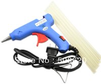 Wholesale 20W Electric Heating Hot Melt Glue Gun Sticks Trigger Pens Art Craft Repair Tool