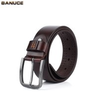 men color jeans - BANUCE Men s Genuine Leather Blet mm Bridle Belt with Gun Metal Finish Buckle Jeans Belt Dark Brown Color High Quality
