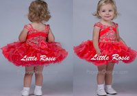 Cheap girls short pageant dresses cupcake Best baby party frocks kids pageant dresses
