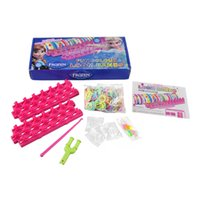 rainbow loom rubber bands - Frozen Rainbow Loom kit Rubber Bands with Mix Color Bands Min Hook and Clip