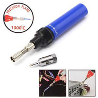Wholesale Hot Selling Gas Welding Solder Soldering Iron Tool Cordless Pen Shaped ML Pure Butane For Sale