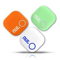 Wholesale 2015 New Nut Smart Tag Bluetooth Tracker Child Pet Key Finder Alarm GPS Locator White Anti lost Alarm