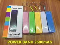 Wholesale 2600mAh Power Bank Charger Portable Perfume mah Mobile Phone USB Power Bank External Backup Battery Chargers for Samsung iPhone HTC MP3