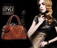 Wholesale The Female Leather Women Bags Hot Women Genuine Leather Women Messenger Bag Vintage handbag designer Retro Bags