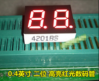 Wholesale 0 in Red LED Displays With Datasheet Common Anode Cathode Availbe