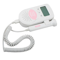 baby sound fetal - 2016 Fetal Heart Doppler MHz Probe LCD Pocket Prenatal Heart Baby Sound Monitor Health Care Monitor