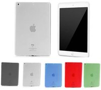 Wholesale For iPad Air G th Soft Transparent Back Cover TPU Cas for iPad Air2 Dust Proof Shell