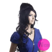 amy winehouse wig - New arrival long wavy Amy winehouse hair style wig synthetic hair wigs for women real natural wigs Color H9001Z