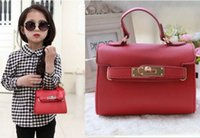 Wholesale New arrive classic Children s Bags new Candy color Lovely princess fashion handbag lqh2018