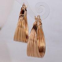 large hoop earrings - Earrings Hoop Earrings GULICX Brand Luxury Party Large Hoop Earings k Gold Plated Big Hoop Earring for Women Circle Earrings Jewelry for