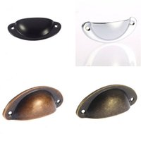 Wholesale Oil Rubbed Antique Style Door Cabinet Drawer Box Bin Furniture Handles Cup Pull Knobs