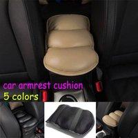 Wholesale Universal Car Auto Armrest Cover Vehicle Center Console Arm Rest Seat Box Pad Protective Case Soft PU Mats Cushion