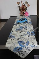 Wholesale FASHION NEW STYLE European pastoral simplicity cloth table runner