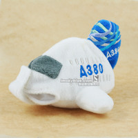 airbus airline - Kai Blue Airlines Airbus A380 Plush aircraft more than a bag with key AIRBUS features