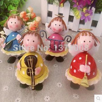 Wholesale 2015 New Exotic Creative Metal Dolls Birthday Gift Wedding Ornaments Children s Day Lron Crafts
