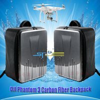 advance fees - New dji phantom bag waterproof for DJI phantom professional advanced RC drone quadcopter black backpack Low Shipping Fee toy
