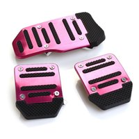 Wholesale Purple Brand New Non Slip Manual Car Pedal Cover Aluminium Set of