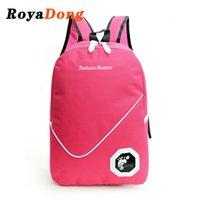 Wholesale RoyaDong New Student Backpacks School Bags Bookbag Children Backpack Travel Bags Large Casual PackageNylon Lovely Mochila