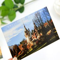 Wholesale 30pcs Set Retro Travel Stories Posters Postcards gsm Import paper Beauty Rome Scenery Greeting cards Vintage Post cards Gifts Cards