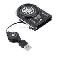 Wholesale new Mini Vacuum USB Cooler Air Extracting Cooling Fan for Notebook Laptop