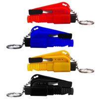 Wholesale Mini Security Accessories Car Knife Tool Glass Breaker Car Emergency Rescue Tool Window Glass Breaker Seat Belt Cutter Safety