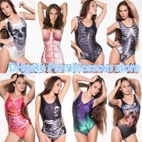Cheap 2016 Digital Printing Bikinis Bodysuit 8 Designs High-elastic super quality fabric SWIMSUIT Women summer beach Swimwear new DHL freeshipping