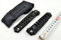 Wholesale Hollow Folding Knife Combat Troodon Steel Blade Single Blade Tanto Point Tactical Survival Knife Knives A161 Camping Knife