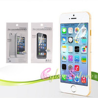 anti glare screen guard - For iPhone6 Plus inch Front Clear Screen Protector with Retail Package Guard Film For iPhone Plus i6