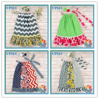 Cheap (02)DHL Free 24 Sets lot latest Dress Designs Summer Dresses New Style Fashion Baby Girls Birthday Party Dresses Clothing Factories In China