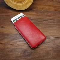 Cheap Wholesale Cheap Best Selling Classical Genuine Leather Bag For Sumsung Note 3 Black Brown Inserted Pouch Sleeve For Cell Phone Cases