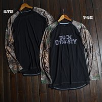 duck dynasty - DUCK DYNASTY Realtree camo quick dry long sleeve t shirt hunting clothing