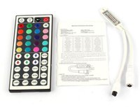 Wholesale New V Keys LED Controller IR Remote controller for RGB LED Strip Light by DHL ship
