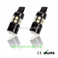 Wholesale High Power xenon white LED With Lens CREE For Brake Light T20 Contact W V