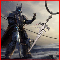 beat man - Fashion wold War game Dota Alsace beat Frostmourne sword pendants necklace game weapon movie jewelry for men free shppping