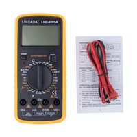 Wholesale Electrician DT9205A AC DC Digital LCD Display Electrical Handheld Tester Digital Multimeter digital professional Multimetro Meter Ammeter
