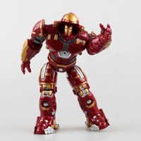 Wholesale 2015 Hot NEW The Avengers Iron man metal Mark Hulkbuster PVC Action Figure toys dolls cm by DHL