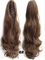 Cheap Hairpiece The Tiger Mouth Clamp Large Horse Hair Wig Claw Clamping Grip Supernatural Contact Receiving Horsetail Tablets Sold