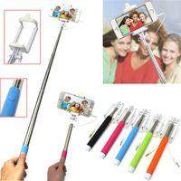 folding stick - Extendable folding Handheld Portrait Selfie Stick Monopod Photograph easy flexible For Cellphone Mobile use