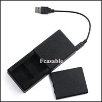 Wholesale Universal Dual Battery Charger mAh Portable Power Bank Backup Charge For GoPro HD Hero3 Camera