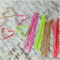Wholesale 300pcs Sealing wire bakery packing sealing bread cake decoration