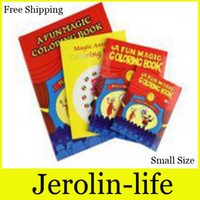 Wholesale Magic cartoon coloring book Magic Trick for magic prop small size